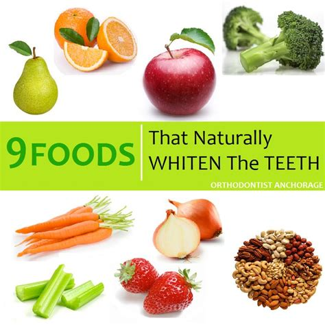 7 Foods To Avoid For Whiter Teeth by Foods That Help Whiten The Teeth Dental Facts