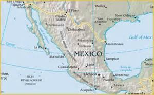 map mexico west coast mexico map west coast