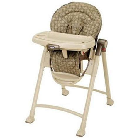 graco contempo folding high chair graco g collection contempo high chair