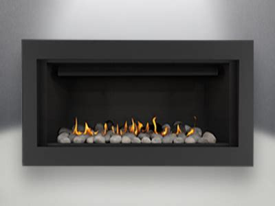 napoleon linear 45 real fireplace