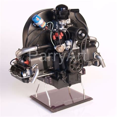 front view   weedub  scale model vw beetle engine  scale scale models