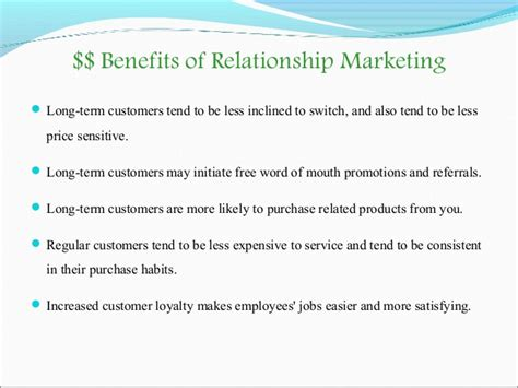 8 Pros Of Being In A Term Relationship by Relationship Marketing Presentation