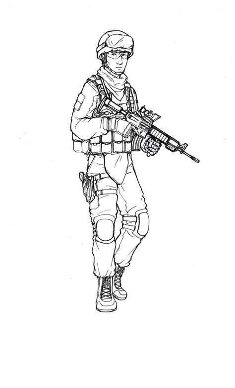 Us Marine By Thomchen114 On Deviantart Marine Coloring Pages