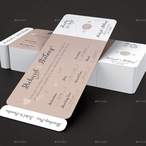 boarding card templates boarding pass wedding invitations card design ideas
