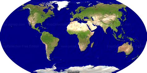 map of the earth primap world maps