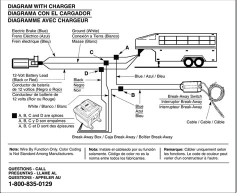 emergency electric trailer breakaway wiring diagram