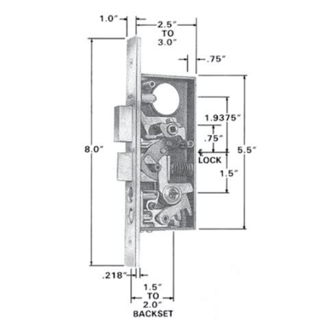 baldwin mortise lock diagram baldwin estate 6800 6802 entrance mortise lock box