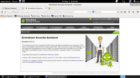 kali linux 2 0 openvas tutorial openvas 8 0 in kali linux installieren pentestit de