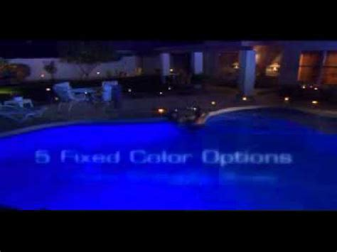 hayward colorlogic led pool light hayward colorlogic led pool light mp4 youtube