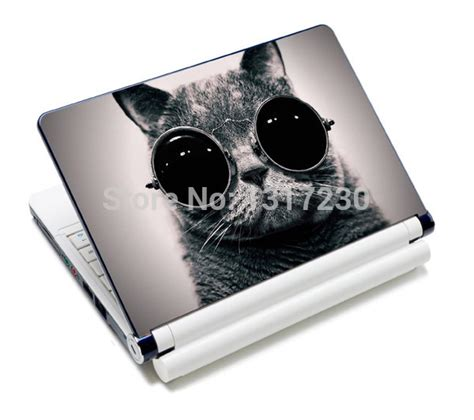 Stiker Laptop Anime 11 12 14 15 Inch Garskin Laptop buy cool glasses cat laptop decal cover sticker skin