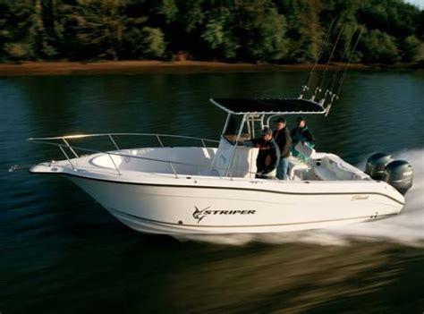 striper charter boats 2008 seaswirl striper 2601 center console o b power boat