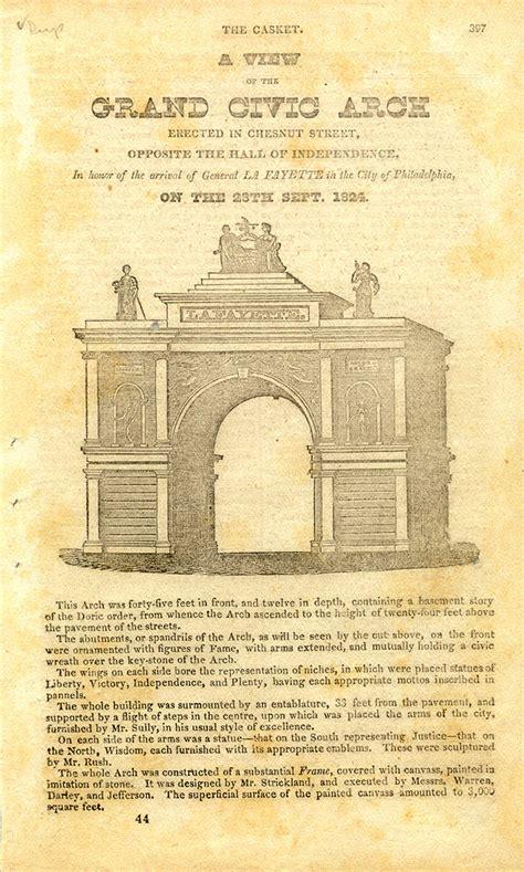 Lafayette College Acceptance Letter Marquis De Lafayette Collections Digitized Selections