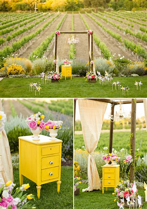Vineyard Wedding Ideas by Vintage Vineyard Wedding Ideas