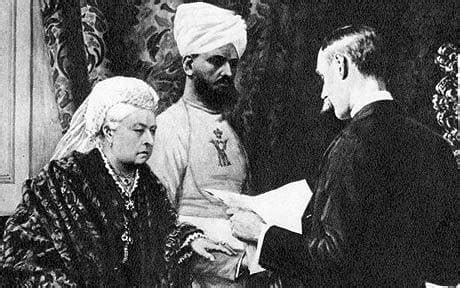 film queen victoria and abdul karim bombay photo images mumbai 1893 queen victoria and her
