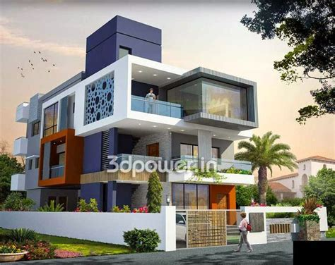modern home design plans 3d ultra modern home designs house 3d interior exterior