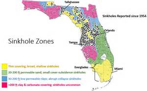 sinkhole map in florida easy science how sinkholes form lucky sci