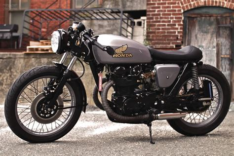 honda cb honda cb 450 cafe racer way2speed