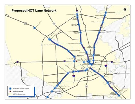 houston hov map lanes to launch in houston let drivers pay to avoid
