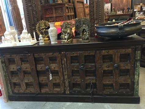 Mogul Interior by Antique Sideboard Media Console Buffet Chest Indian