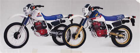 Motorrad Honda Xl 250 by 1986 Honda Xl250r Moto Zombdrive