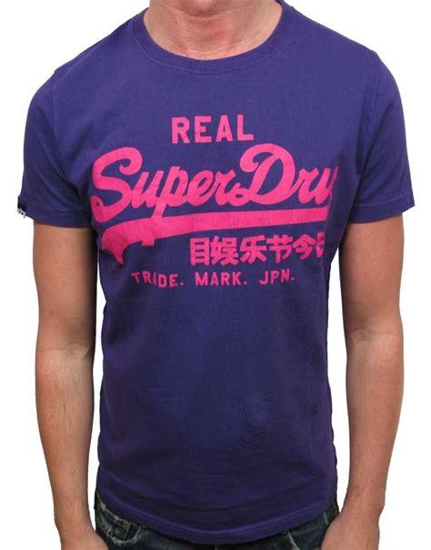 Superdry Casual Tshirt vintage t shirts for superdry fashion clothing mens t