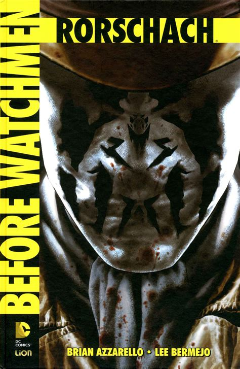 tavole rorschach acquisto rw before watchmen rorschach dc absolute before