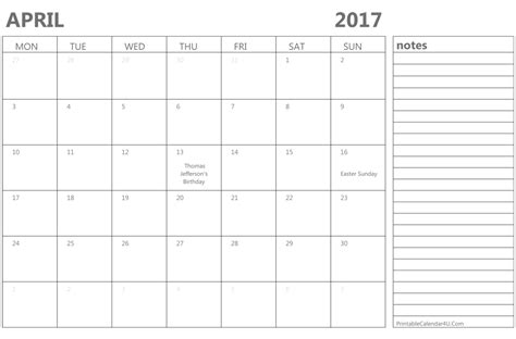 april 2016 calendar printable 2017 printable calendar printable april 2017 calendar template monthly calendar 2017