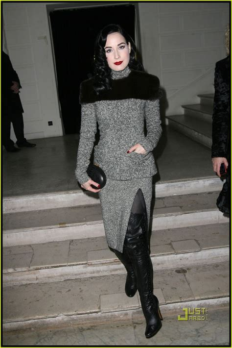 Gaultier Show A Come True For Dita by Dita Teese Is Gaultier Gorgeous Dita Teese