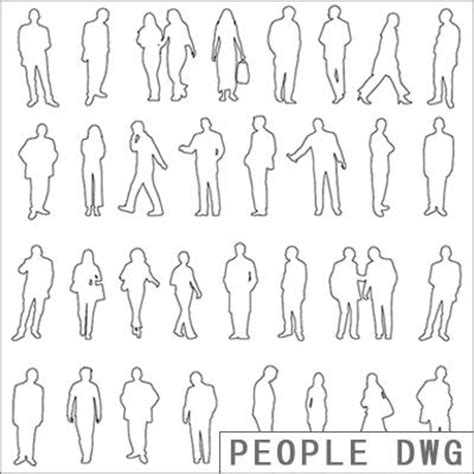 how to section a person people dwg texture sharecg