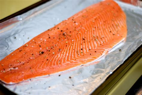 crispy baked salmon with sweet hot mustard the weekend gourmande