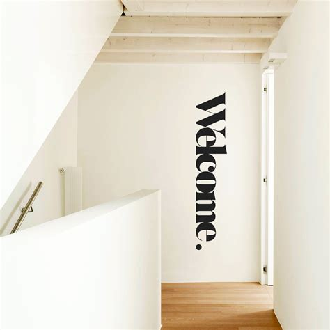 welcome wall stickers wall sticker welcome wall message