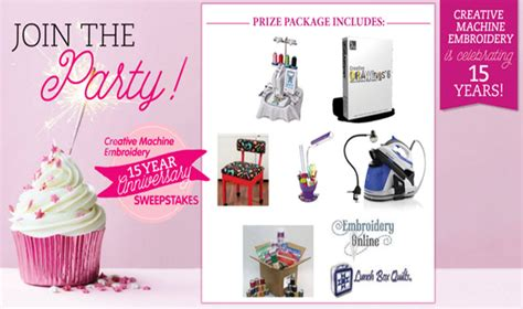 Free Daily Sweepstakes - sewing sweepstakes sew daily