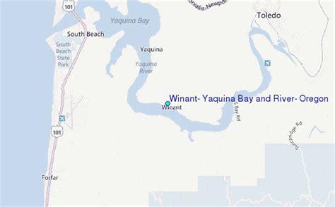 winant yaquina bay and river oregon tide station