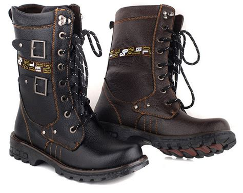 mid calf mens boots mens toe mid calf boots lace up cross high top