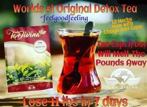 Divina Detox Tea by Te Divina Detox Tea For Sale In Drogheda Louth From