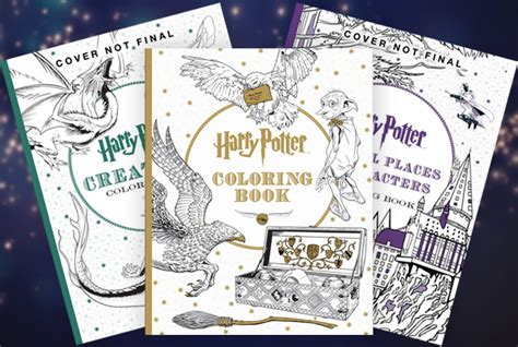 harry potter coloring book half price books 21 awesome pop culture coloring books for adults simplemost