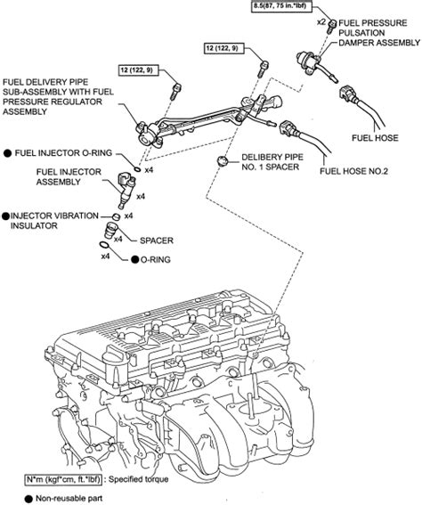 Toyota Fuel System Service Repair Guides Gasoline Fuel Injection Systems