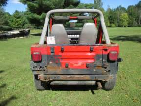91 Jeep Wrangler For Sale 91 Jeep Wrangler Yj 5 Speed Manual 4 Cyl Project Top