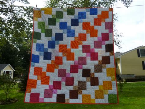 Knotted Quilt by Knotted Thread Kaleidoscope Kites Quilt