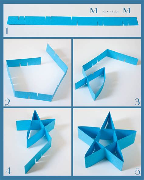 Make Folded Paper - m m folded paper diy