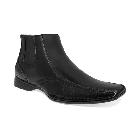 maden shoes steve madden madden shoes talent boots in black for lyst