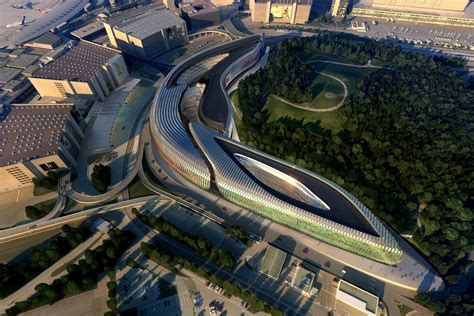 university of art design zurich zaha hadid architects the circle at zurich airport