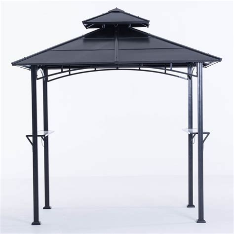 hardtop grill gazebo sunjoy eastport 8 ft top grill gazebo the home