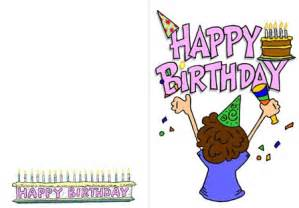 free printable birthday cards for him 6 best images of free printable birthday cards for
