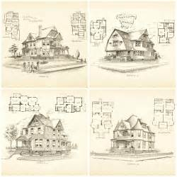 Edwardian House Plans Remodelaholic 20 Free Vintage Printable Blueprints And
