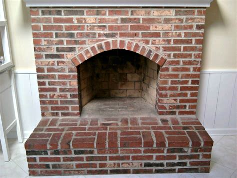 How To Check Fireplace by Brick Fireplace Painting Process Brick Anew
