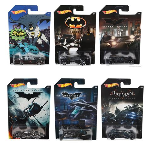 Diecast Hotwheels Batman The Bat Ah118 batman batmobile 1 64 wheels random set of 4 diecast