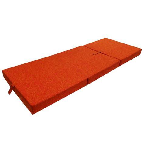 matratze schaumstoff der schaumstoff matratze klappmatratze g 228 stebett orange