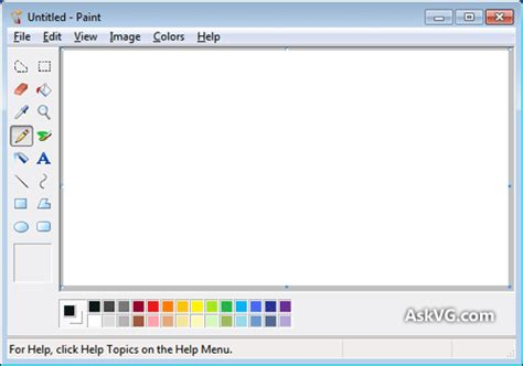 [tip] get classic ms paint (without ribbons) back in