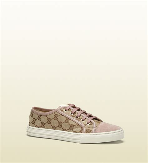 gucci sneakers for gucci california original beige gg canvas low